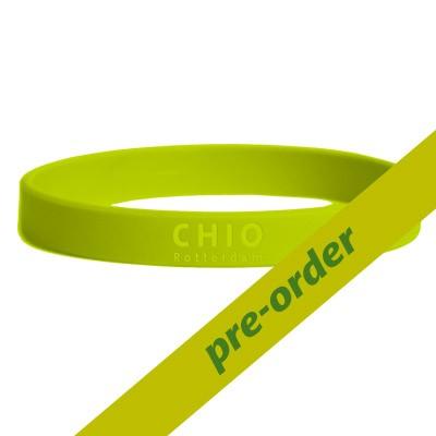 Siliconen wristband groen